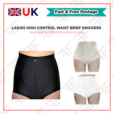 Womens Tummy Tuck & Bum Panty Girdle Ladies High Control Waist Brief Knickers