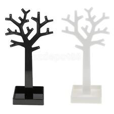 Jewellery Necklace Ring Earrings Tree Stand Display Organizer Show Rack Holder