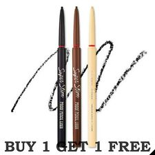 New ETUDE HOUSE Super Slim Water Proof Pencil Liner 0.08g Eye liner 1+1 Free