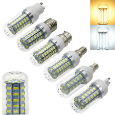5W-15W E27 LED Corn Light Bulb 5730 SMD Energy Saving Warm /White Lamp 110 /220V