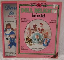 DOLL DELIGHT in Crochet  DARLING DOLLS to Crochet by plaid  YOU PICK  Patterns