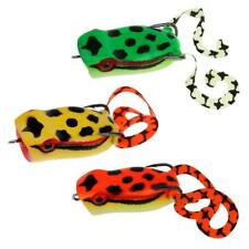 Topwater Frog Lure Hollow Soft Fishing Lures Crankbait Saltwater Bass Popper