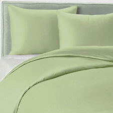 800TC Egyptian Cotton 1pc FITTED SHEET Sateen Meadow