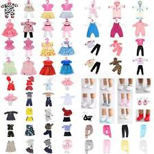 Cute Dolls Dress T-shirt Pants Socks Accessories for 18 inch American Girl Doll
