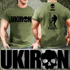 UKIRON *Door Kicker* Special ops Military ARMY T-SHIRT Gym Soldier MUSCLE Forces