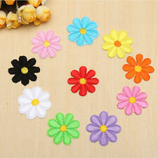 Colorful Embroidered Little Flower Badge Cloth Patch Iron Sewing For Appliques