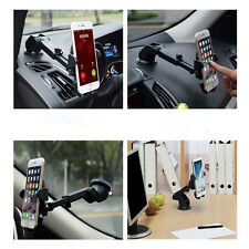 New 360° Car Holder Windshield Dashboard Mount Bracket Cradle For Cell Phone GPS