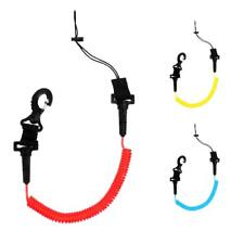 7.5' Kayak Surfboard Stand up Paddle Coil Leash Secure Fishing Dive Lanyard