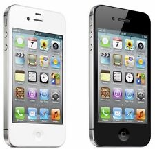 "APPLE IPHONE 4S 16GB iOS8 3G 8MP GPS WIFI  3.5"" GSM Unlocked SMARTPHONE"