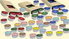 10 Tealights Scented Candles 5 Hours Diferent Colors & Fragances(1)  MADE IN USA
