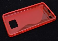 S-Type TPU Case For Samsung Galaxy S II S2 I9100 Gel Cover Multi Color