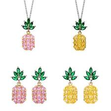 CZ Crystal Pineapple Earring Sweet Stud Earring for Women Girl Jewelry Gifts
