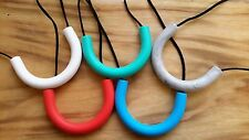 Chewable Pendant Chewelry - ASD, SPD, Teething, Silicone, BPA FREE