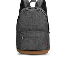 School Bag Rucksack Travel Backpack Satchel Canvas Shoulder Women Girls Boys Bag