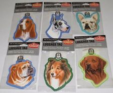 New Dog Breed Luggage Suitcase Address Tag Choose Breed Great Dane Lab & More