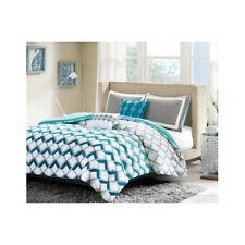 Bedroom Comforter Set 4Pc Teens Kids Dorm Guest Twin Full Contemporary Pillows