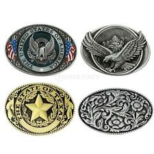 "Classic Western Cowboy Rodeo Hawk Retro Belt Buckles Fits 1.4"" to 1.5"" Wide Belt"