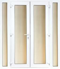 CHEAP 2.7M UPVC PATIO FRENCH DOORSET AND SIDELITES