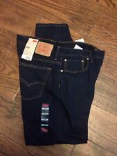 NEW 100% AUTHENTIC $58 LEVIS 569 Jeans Mens Loose Straight Fit Zip Fly Blue NWT