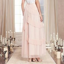 LC Lauren Conrad Runway Collection Tiered Tulle Maxi Skirt NWT