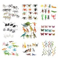 12pcs Assorted Plastic Zoo Figure Jungle Wild Animals Kids Toys Party Bag Favors