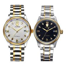 TEVISE Mens Automatic Mechanical Date Calendar Waterproof Crystal Wristwatch