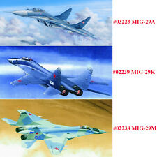 Trumpeter 03223 02238 02239 1/32 Russian MIG-29A/-29M/-29K Fulcrum Fighter Model