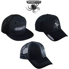 Spiderwire Baseball Hats / Caps 3 models Flatbill Snapback Trucker Fitted Hat