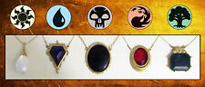 MTG Magic the Gathering - MOX SET - PEARL SAPPHIRE JET EMERALD RUBY Necklaces