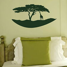 African Island  Removable Vinyl Decor /Art Decor Graphics Wall Decal NE85