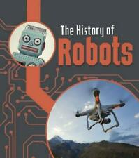 History of Robots by Chris Oxlade (English) Hardcover Book