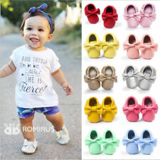 Baby  Tassel Soft Sole Leather Shoes Infant Toddler Shoes Newborn Infant Pram...