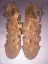 Womens Merona Trista Heels Tan Size  11 -NEW