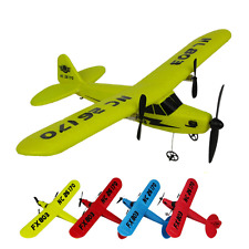 Mini RC Helicopter Remote Control 2 Channel 2.4GHz EPP foam Glider Airplane Toy