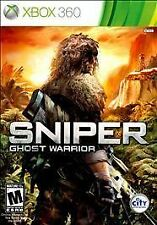 Sniper: Ghost Warrior Elite Trained Special Ops XBOX 360 Platinum Hits / Sealed