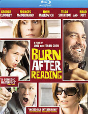 BURN AFTER READING (BLU-RAY DISC ,2008) BRAND NEW SEALED FREE SHIPPING BRAD PITT