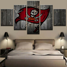 Tampa Bay Buccaneers Sports Canvas Print Wall Painting Abstract Art Home Decor