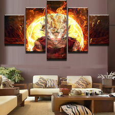 Cartoon Dragon Balls Games Painting Abstract Canvas Print Wall Art Home Decor