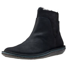 Camper Beetle Mid Womens Ankle Boots Black New Shoes