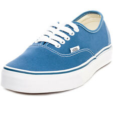 Vans Authentic Womens Blue Canvas Casual Trainers Lace-up Genuine Shoes