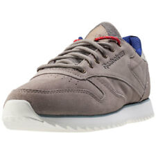 Reebok Classic Outdoor Womens Grey Suede Casual Trainers Lace-up New Style