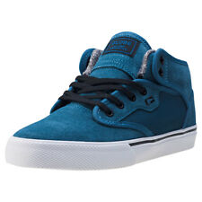Globe Motley Mid Kids Trainers Blue White New Shoes