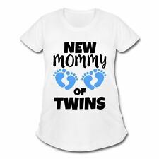 Pregnancy New Mommy Of Twins Women's Maternity T-Shirt by Spreadshirt™