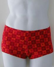 MENS Low Rise Square Cut Swimsuit in Rothko Cotton/Lycra: S-M-L-XL