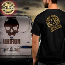 UKIRON *Licensed LIMITED EDITION - Ford TRANSIT CUSTOM M-SPORT* T-Shirt top UK