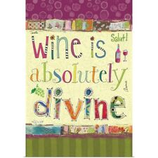 Poster Print Wall Art entitled Wine is Absolutely Divine II