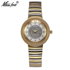 Miss Fox Luxury Womens Watch Fashion Full Diamond Brand Ladies Wrist Watches New