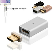Metal Micro USB Fast Data Sync Charging Cable Magnetic Adapter Converter Charger