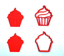 Cup Cake Cookie Cutter - 3D Printed - CupCake Cookie Cutter- Bakery Cookie