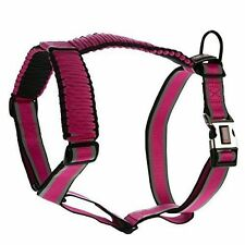 Kong on the Go Paracord Reflective Adjustable Harness Color Pink/Black Size XS
